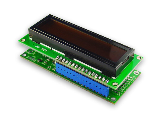 board with lcd